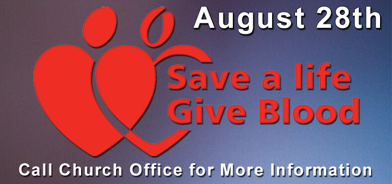 Blood Drive august 28